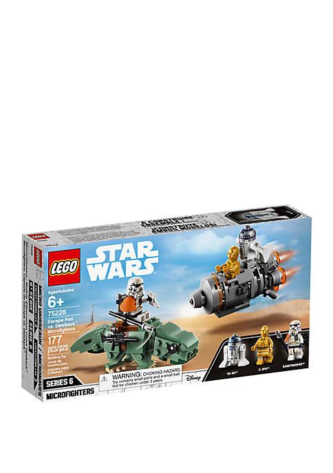 Lego® Star Wars Escape Pod vs. Dewback™ Microfighters