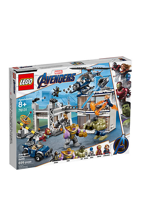 Super Heroes Avengers Compound Battle Set