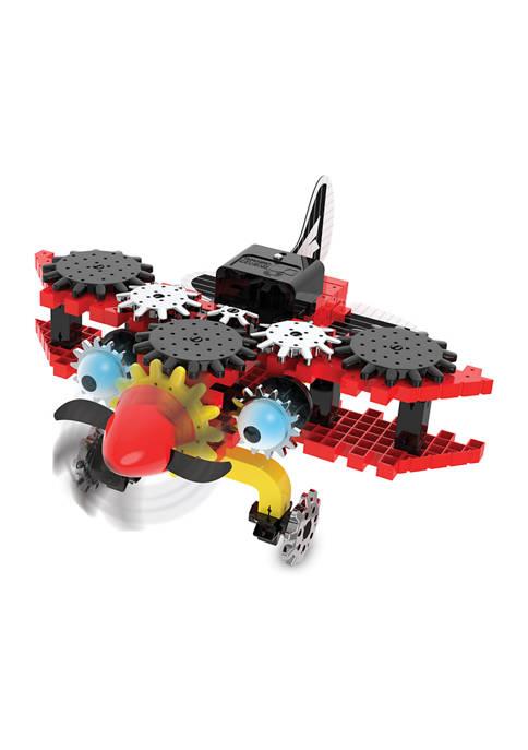 Techno Gears - Bionic Biplane (80+ pieces)