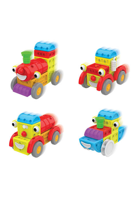 Techno Kids 4 in 1 Construction Sets - Around Town