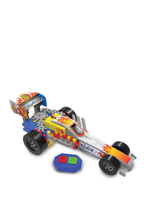 Learning Journey International Dragster Construction Toy, Multicolor