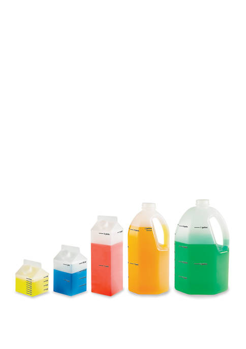 Learning Resources Gallon Measurement Set