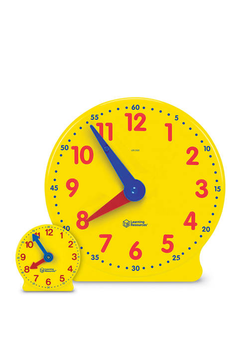 Learning Resources Big Time Classroom Clock Kit
