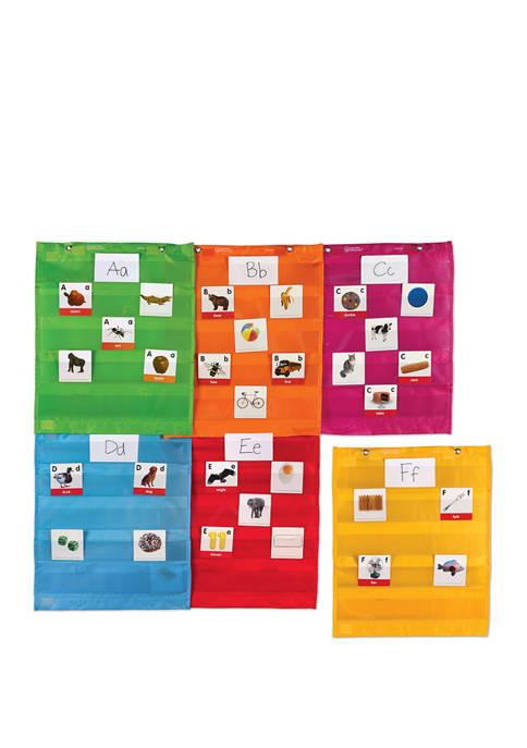Magnetic Pocket Chart Squares Set