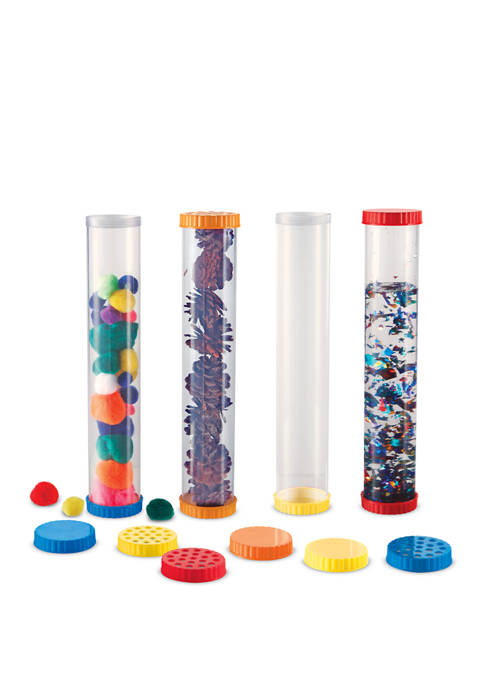 Learning Resources Primary Science Sensory Tubes, Set of