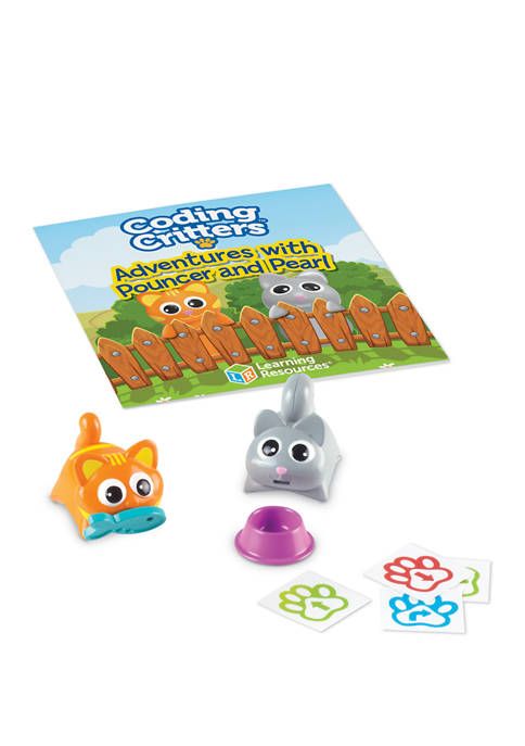Learning Resources Coding Critters Pair-A-Pets: Pouncer &