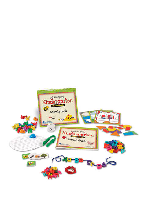 Learning Resources All Ready for Kindergarten Readiness Kit