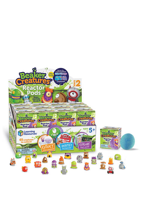 Learning Resources Beaker Creatures Reactor Pods, Series 2,