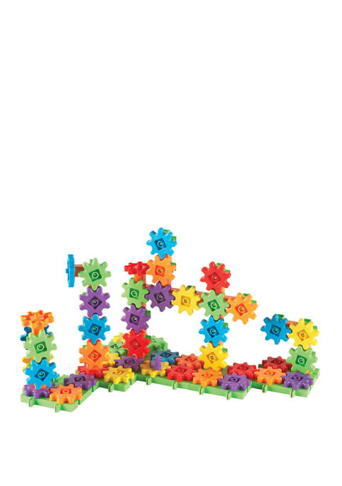 Learning Resources Gears! Gears! Gears! 100-Piece Deluxe Building