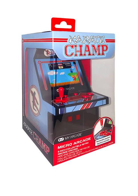 6 Inch Retro Karate Champ Micro Player