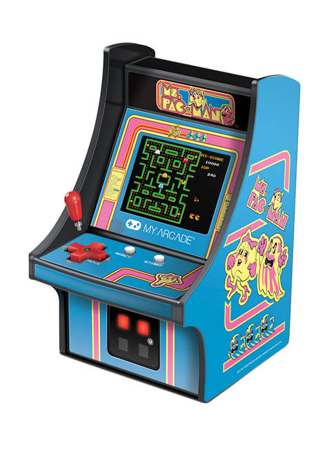 6.75 Inch Ms. Pac-Man Micro Player