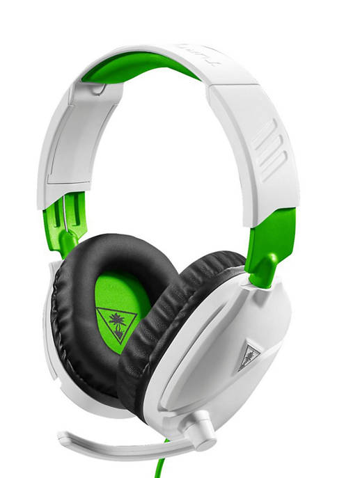 Ear Force Recon 70XB Headphones - Black, White, and Green