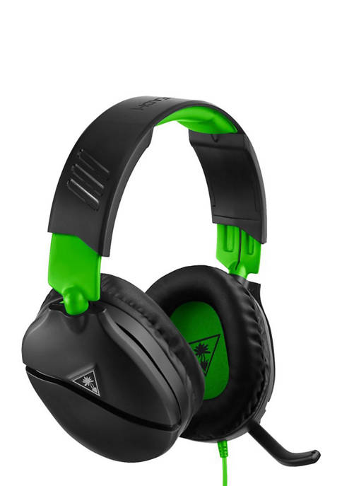 Ear Force Recon 70XB Headphones in Black and Green