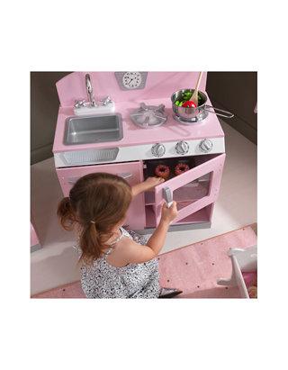 Kidkraft Retro Kitchen Refrigerator Pink Belk