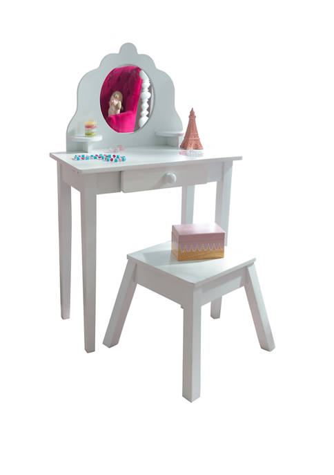 Med Vanity And Stool