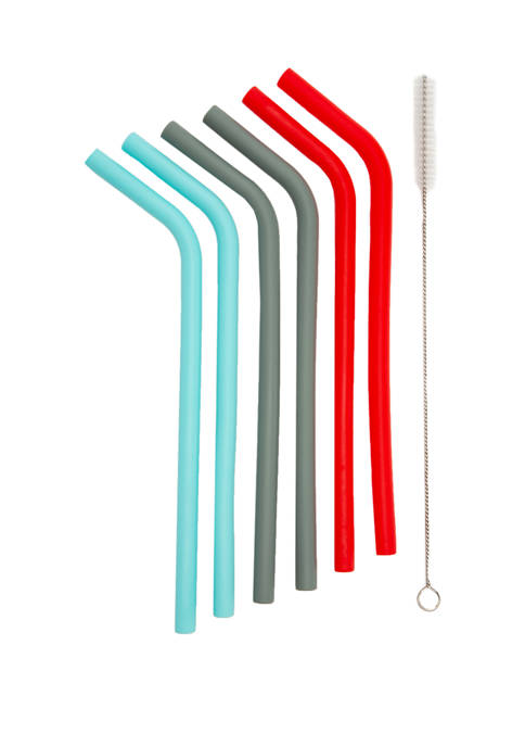 7 Piece Reusable Straws
