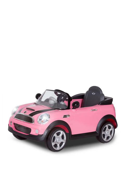 Rollplay 6V Mini Cooper Pink