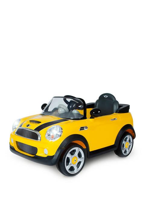 6V Mini Cooper Yellow