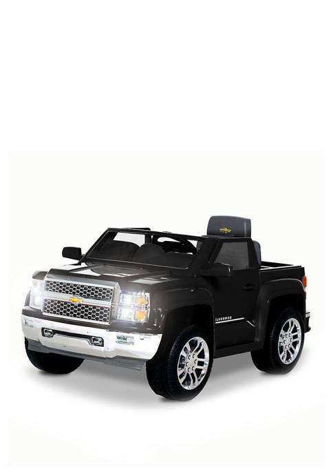 Rollplay 6V Chevy Silverado Black
