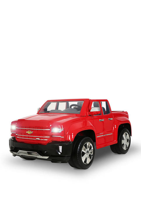 Rollplay 12V Chevy Silverado Red