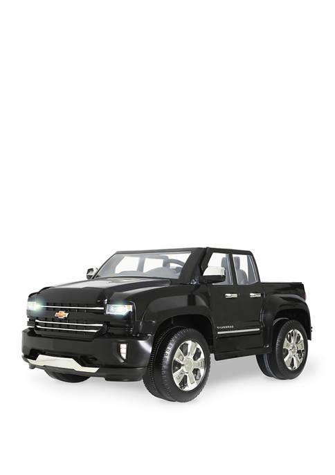 Rollplay 12V Chevy Silverado Black