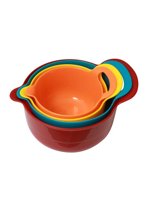 Gourmet Kitchen 4 Piece Batter Bowl Set