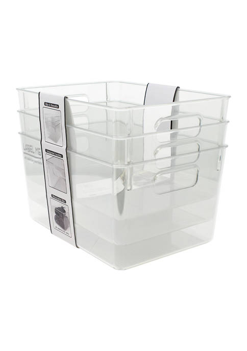 Heritage Clear Multipurpose Storage Bins