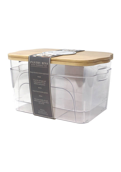 Heritage Set of 2 Small Plastic Bins with