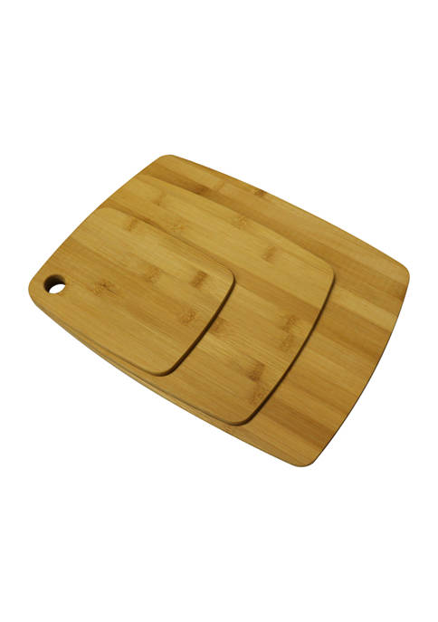 Bombay Bamboo Rectangle Cutting Boards
