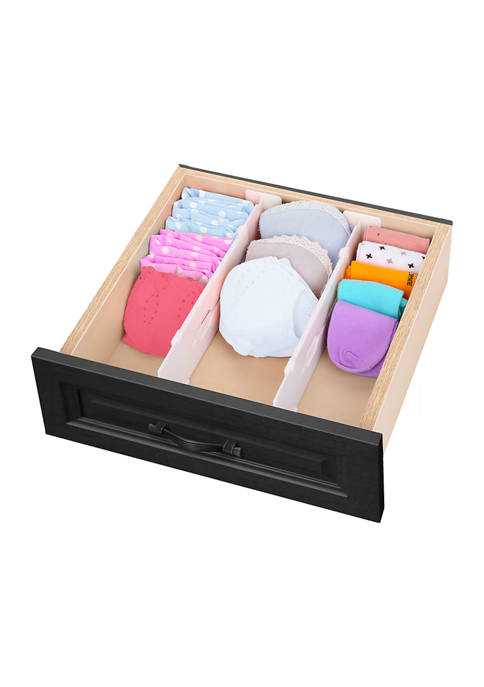 Set of 2 Expandable Drawer Dividers