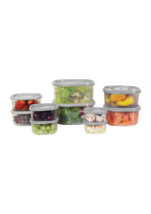 Farberware 20 Piece Food Storage Container Set
