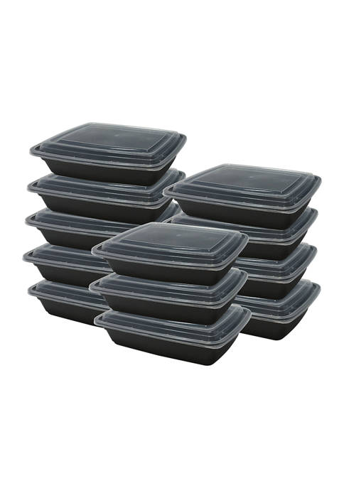 Farberware Meal Prep Containers with Lids