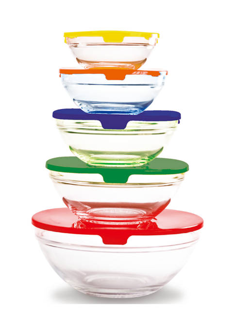 Farberware 10 Piece Bowl Set