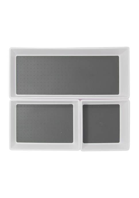 Farberware Set of 3 Plastic Bins