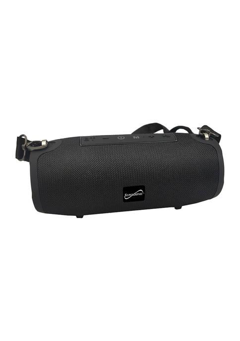 Portable Bluetooth Speaker with True Wireless Technology (Black)
