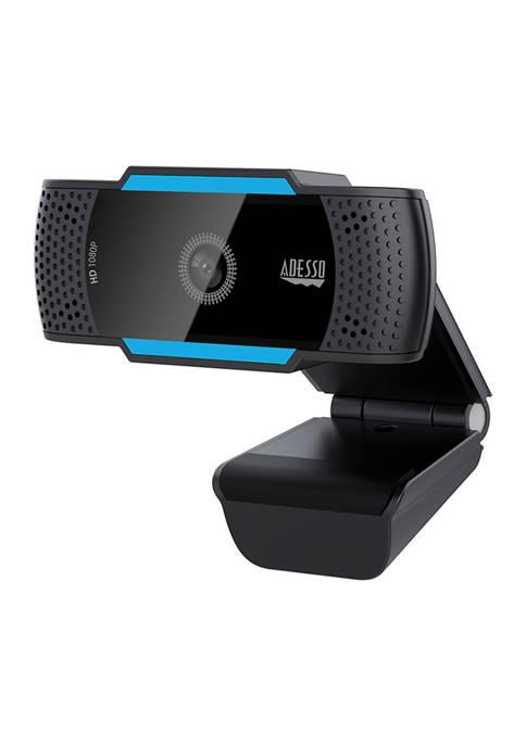 Adesso 1080p HD USB Auto Focus Webcam with