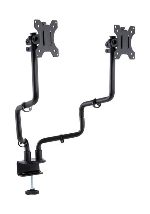 Metal Art Dual Monitor Arms