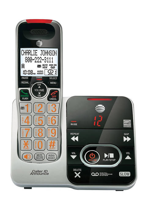 AT&T DECT 6.0 Big-Button Phone System with Digital