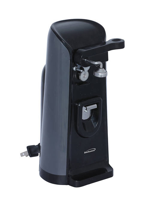 Brentwood Appliances Tall Electric Can Opener with Knife
