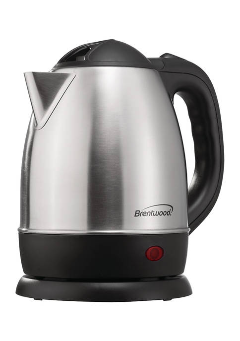 Brentwood Appliances 1.2-Liter Stainless Steel Cordless Electric