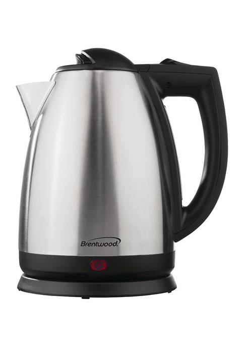 2-Liter Stainless Steel Electric Cordless Tea Kettle