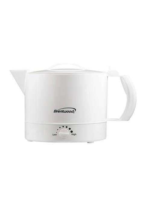 Brentwood Appliances 32-Ounce Electric Kettle Hot Pot
