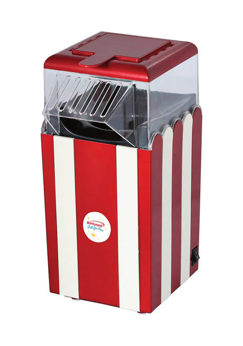 Brentwood Appliances Classic Striped 8-Cup Hot Air Popcorn