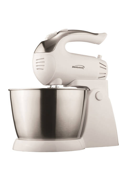 Brentwood Appliances 5-Speed + Turbo Electric Stand Mixer