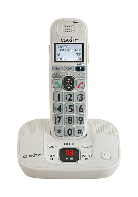 Clarity DECT 6.0 Amplified Cordless Phone with Digital