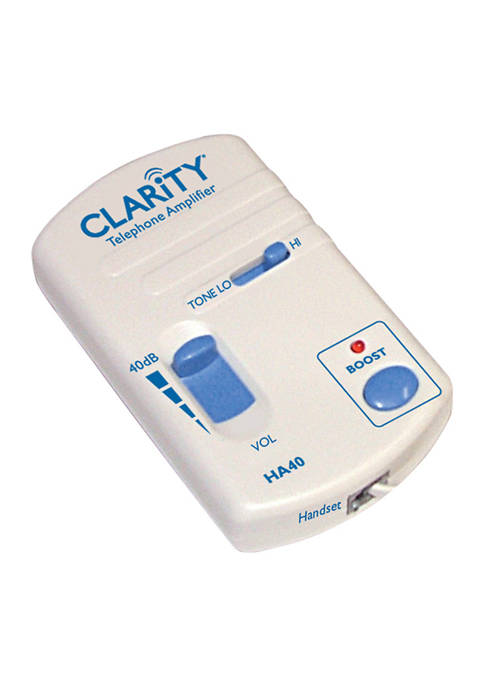 Clarity HA40 Portable Telephone Handset In-Line Amp
