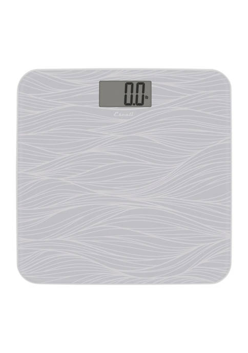 Escali Glass Waves Body Scale