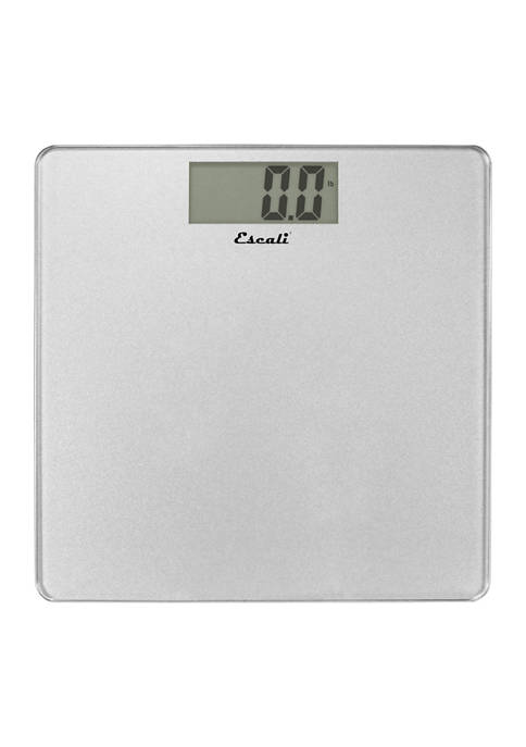 Glass Bathroom Scale (Silver)