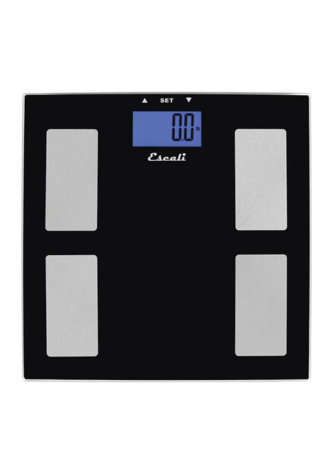 Escali Goal Tracking Body Composition Scale