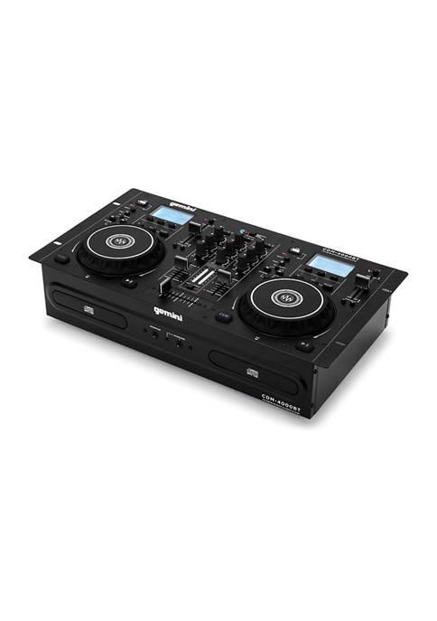 Gemini CD/Mixer Combo Player with Bluetooth Input